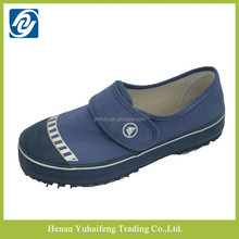 cheap price navy canvas upper foorwear factory customizes jail shoes