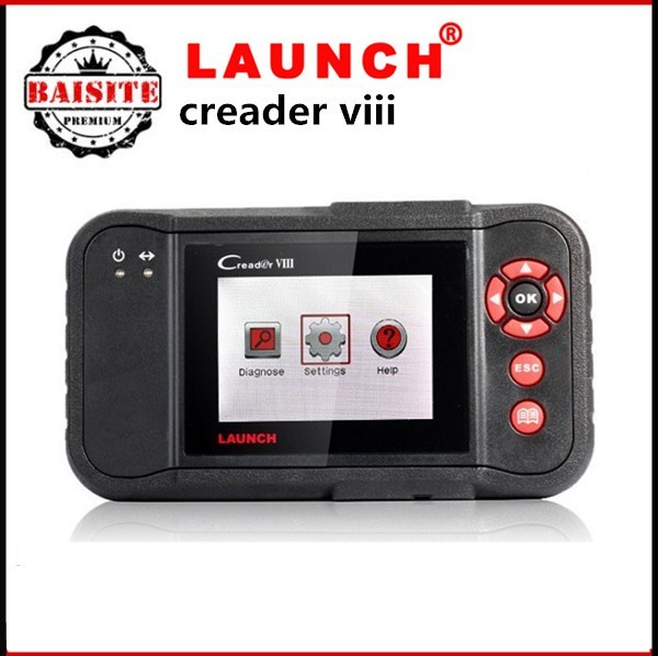 2016 Hot sales original auto car diagnostic scanner Launch X431 CReader VIII Code Reader launch x-431 creader 8 in stock