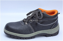high-cut rubber sole steel toe safety shoes 9886-1