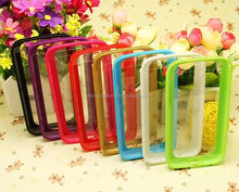 Low price TPU+PC transparent mobile cover for Mobile Phone/Phone cover for Samsung s4