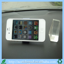 PU sticky phone holders car mount holder for pda mp3 mp4 mobile phone