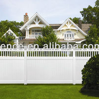 Plastic Garden Fence For Home Using