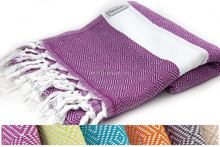 Bulk Buy from Factory stock soft and light weight Cotton Turkish Beach Towel