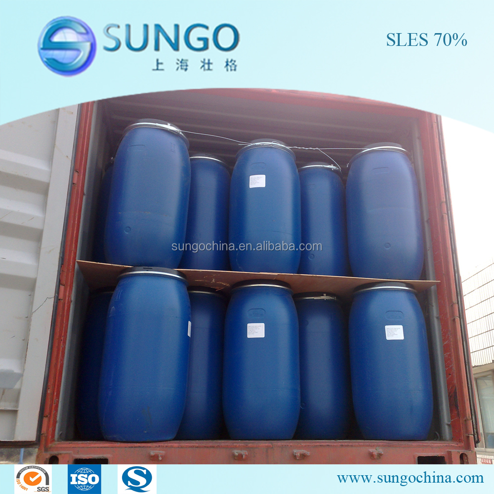 Low Price SLES 70 Sodium Lauryl Ether Sulfate AES/S0%