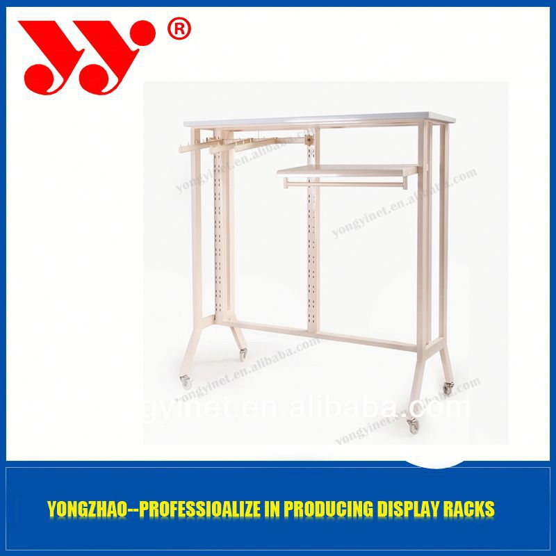 2013 New Design and Fashionable double bar clothing rack