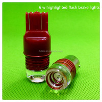 New product auto interior LED lampT20 1157 6WLong bright explosion led double color brake light turn light car parts car accesso