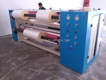 slitting machine for PE, BOPP, PET, CPP, CPE, PVC
