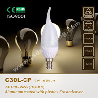 7w candle lamp led e14 220v 12v