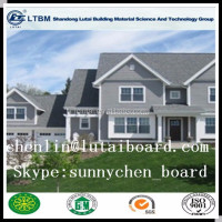 Waterproof fiber cement External wood siding board