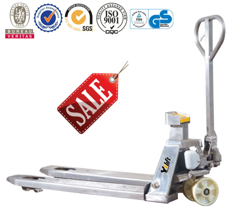 Stainless Weighing Hand Pallet Truck