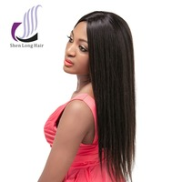 Fashion Style Brazilian Hair Full Lace Wig 20 Inches 30 Inches Silky straight Wave