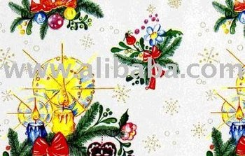 "Gift wrapping paper ""Mistletoe"""