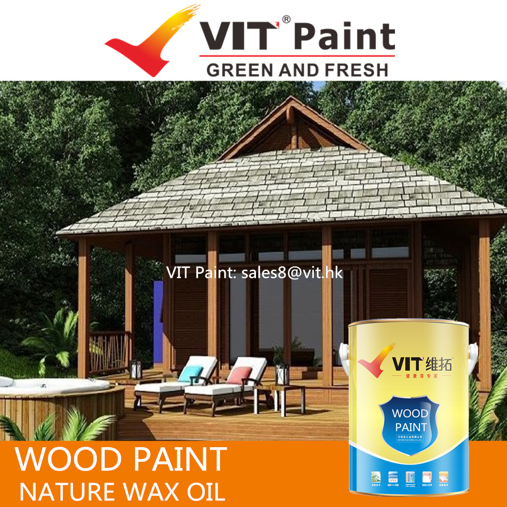 VIT Wood finish paint, white wood paint for furniture, industrial wood coatings