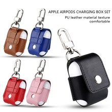 PU Leather Case for Apple Airpods ,Colorful Case Cover, Protective Case for airpods