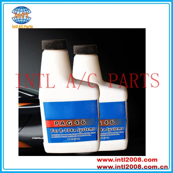 250ml/ 8OZ PAG 46 PAG 100 PAG 150 Lubricant compressor oil 3GS 4GS 5GS 3-GS 4-GS 5-GS Compressor Refrigerant Oil China supplier
