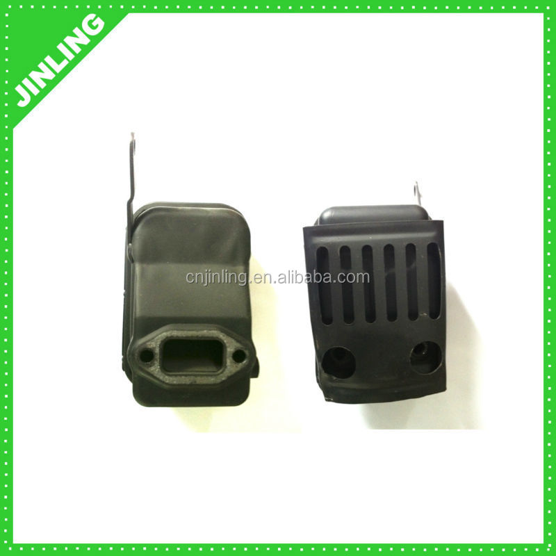 TD40 brush cutter parts Muffler