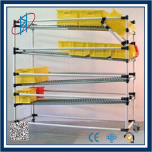 PE coated pipe manufacturer for diy warehouse equipment