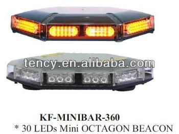 LED Mini Light bar (KF-MINIBAR-360 LED) 360 degree lighting, Octagon Beacon