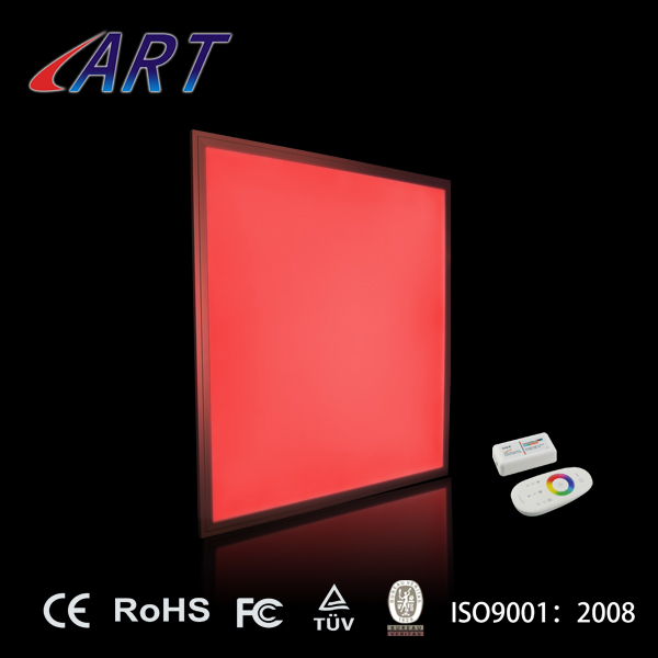 2017 newest favorable hot sale rgb led panel light 60x60 with 2.4G remote controller