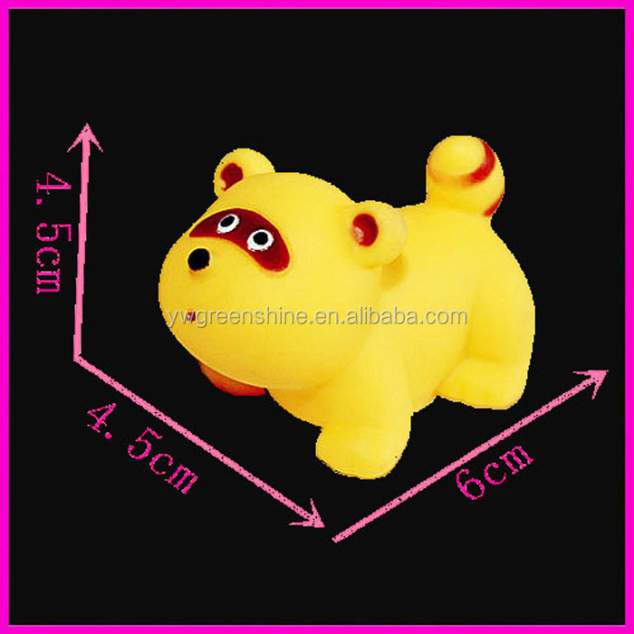 2016 Wholesale Rubber Animal Baby Bath Toy for Kids and toddlers,Zoo Soft Rubber Animals toys for kids