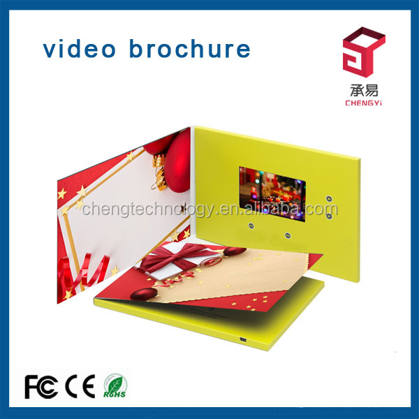 paper magic group christmas handmade video player greeting cards for new year