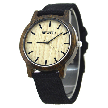 wrist wood watch from wooden watches manufacture  custom wood watch canvas