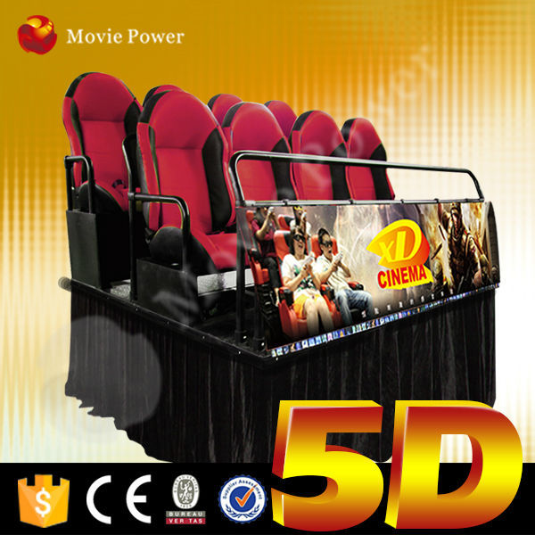 Thrilling action ride 4d 5d 7d 9d motion theater