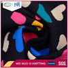 New colorful Digital printing heart shaped polyester sports fabric