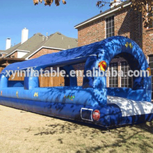 2016 hot selling single lane Inflatable belly water Slip and slide for sale
