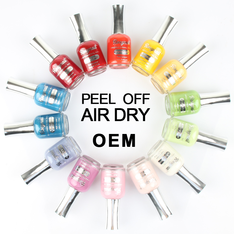 China factory suppliers OEM organic non toxic permanent glaze nail polish