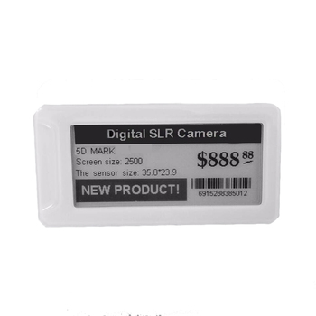 433MHz active Electronic Shelf Labels rfid ESL price tag labels