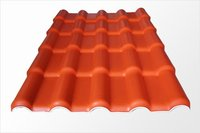 1040mm width synthetic resin spanish pvc roofing tiles price