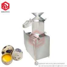 Quail egg breaking machine / hen egg white separator egg shell remover