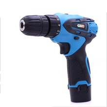 Li-ion Battery Rechargeable Electric Drill 10mm Cordless Power Tools