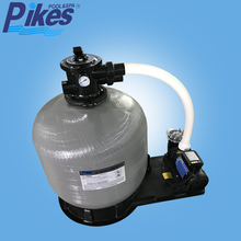 large capacity high pressure commercial sand filter for water treatment