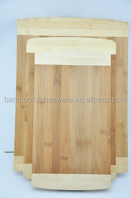 Bamboo Wooden Cutting boards/Chopping Blocks set of 3 pcs