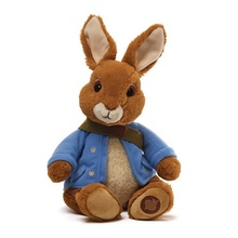 peter rabbit plush bunny perter rabbit with orange clothes