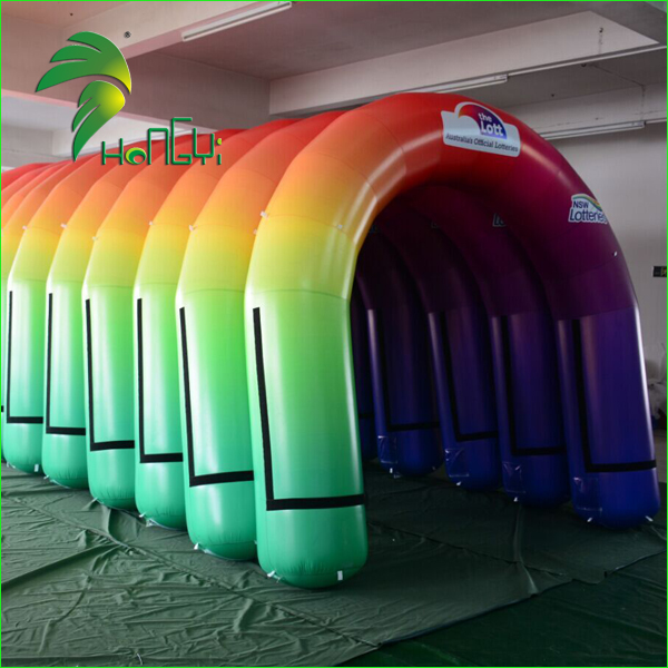 Custom Gaint Welcome Start Finish Line , Inflatable Entrance Arch
