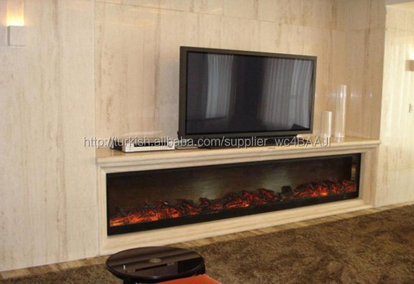 DELANEY 48 TV STAND WITH FIREPLACE