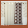 Jacquard Blackou curtain home decoration Rod Pocket Sheer Window curtain Covering
