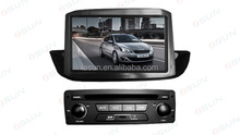 iSun 3D UI Virtual Disc Backlight 7 Colors for Peugeot 308 Car DVD GPS