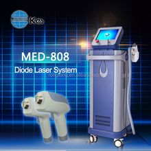 2016 Beijing KES 808nm diode laser painfree professional hair removal beauty machine