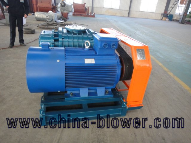 three impellers blower machine for conveying