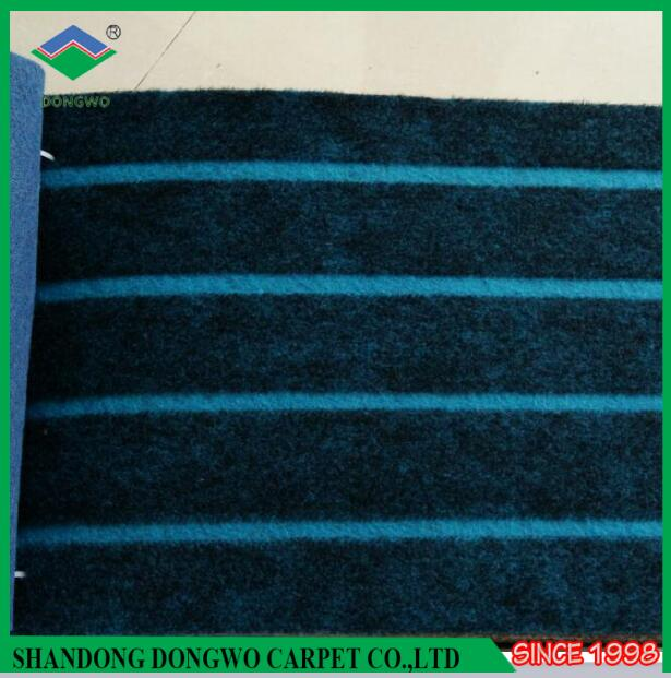 Free sample Striped design wall to wall carpet used for hotel floor indoor outdoor