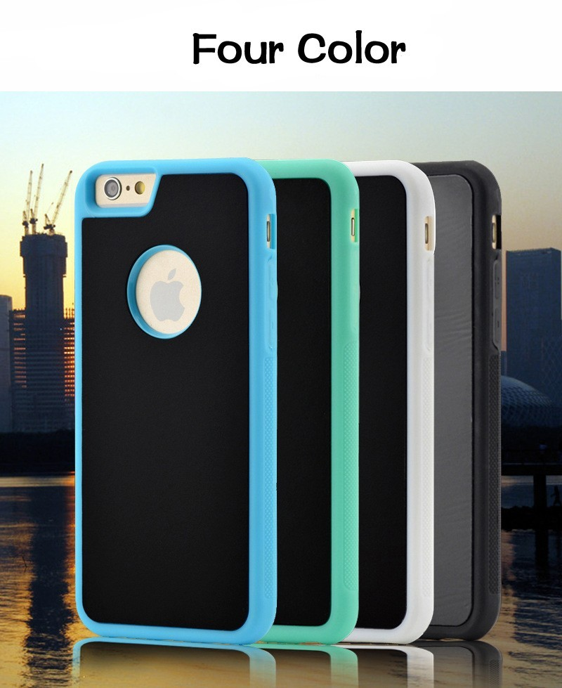 New PC Anti-gravity Case for iphone 6 6s 7 plus Magical Anti gravity Nano Suction Cover Antigravity Phone Cases for Iphone7