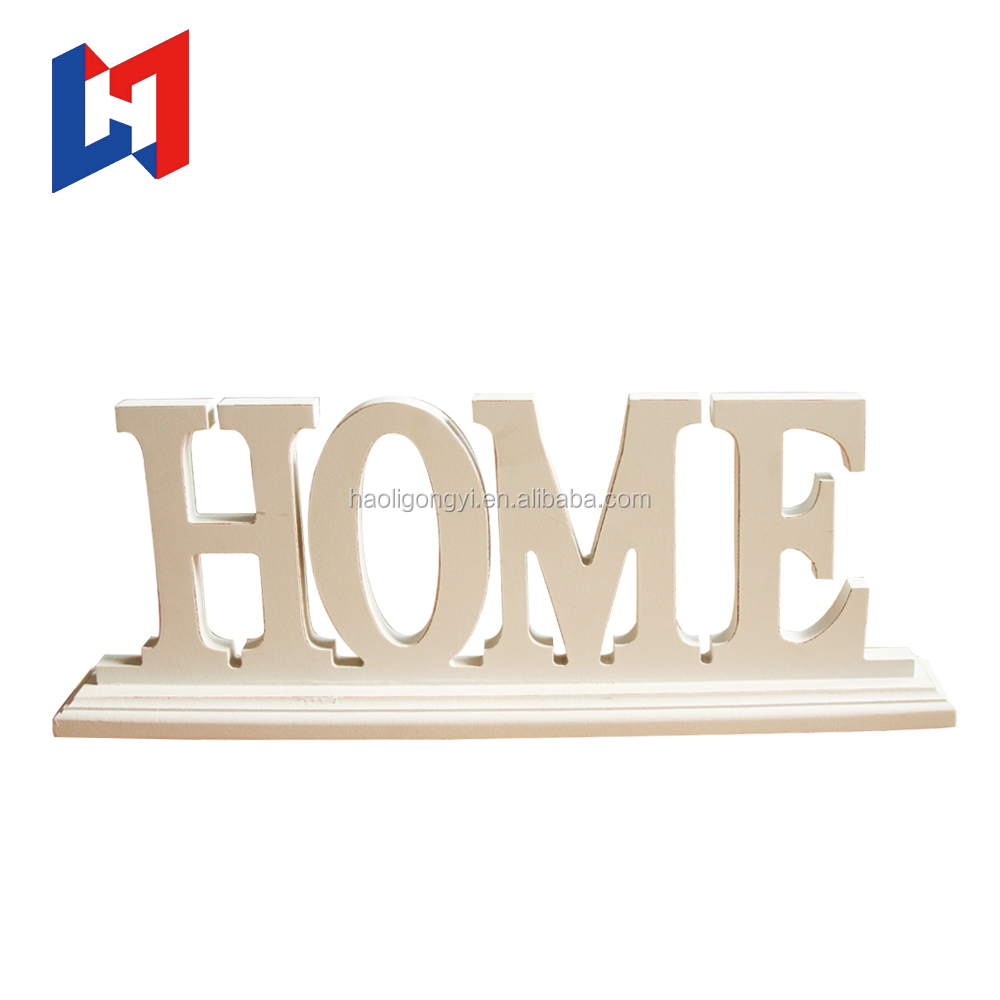 2017 cheap small wooden craft alphabet letters Wholesale