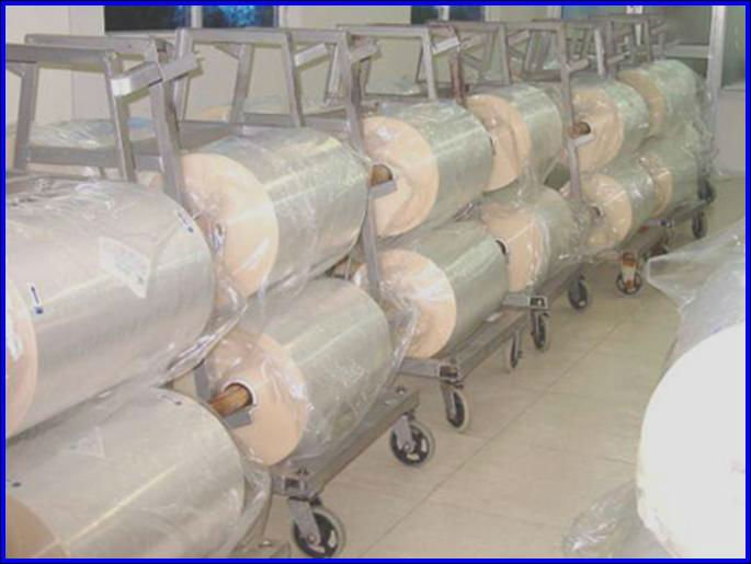 polypropylene rough film for oil impregnation capacitor