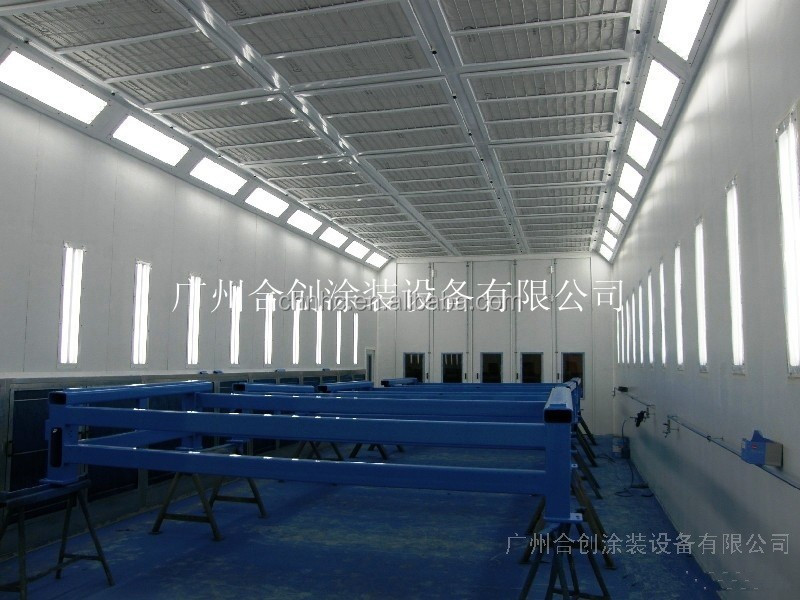 Bus spray booth for sale/industrial paint room/truck painting and baking oven