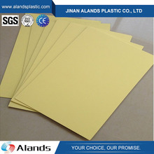 Rigid and foam plastic pvc sheet for photo album inner pages making
