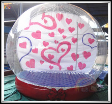 Best Price Outdoor Inflatable Event Transparent Globe Wedding Globe Decoration On Sale